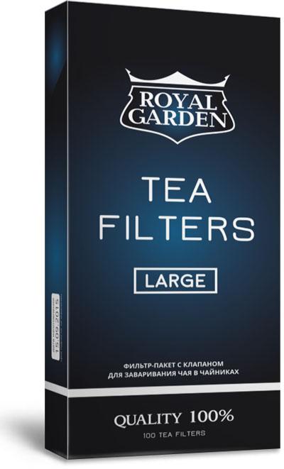 Фильтры для чая Royal Garden. Large