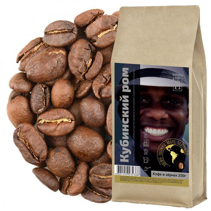 Кубинский ром. Кофе в зернах