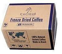 Сублимированный кофе 75гр «Cacique» Бразилия