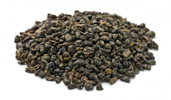 Зеленый чай с мятой (ганпаудер)