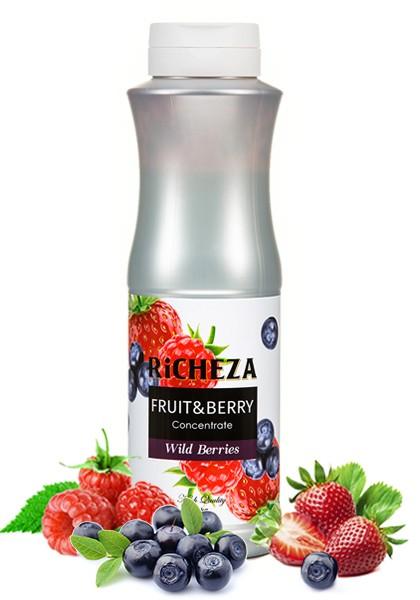 Лесные ягоды, концентрат Richeza 1кг