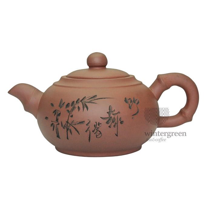 """Глиняный чайник """"Бамбук"""", объем 350мл."""